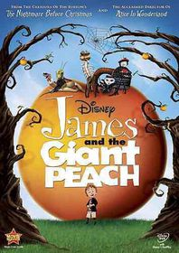 James and the Giant Peach - (Region 1 Import DVD)