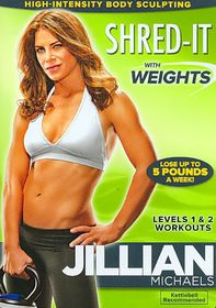 Jillian Michaels:Shred It with Weight - (Region 1 Import DVD)