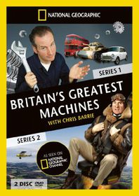 National Geographic: Britain's Greatest Machines - Series 1 and 2 - (Import DVD)
