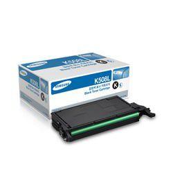 Samsung CLT-K508L High Yield Black Laser Toner Cartridge