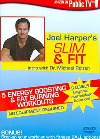Joel Harper's Slim & Fit - (Region 1 Import DVD)