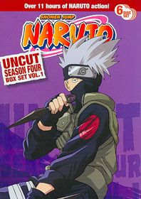 Naruto Uncut Season 4 Box Set Vol 1 - (Region 1 Import DVD)