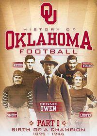 History of Oklahoma Football Part 1:B - (Region 1 Import DVD)