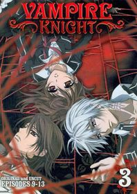 Vampire Knight Vol 3 - (Region 1 Import DVD)
