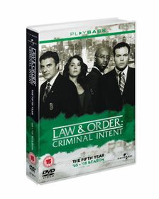 Law and Order - Criminal Intent: Season 5 - (Import DVD)