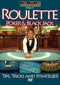 Roulette Poker and Black Jack:Tricks - (Region 1 Import DVD)