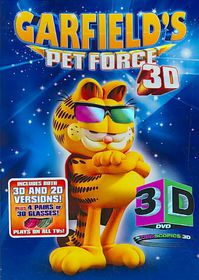 Garfield Pet Force 3d - (Region 1 Import DVD)