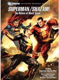 Superman/Shazam:Return of the Black a - (Region 1 Import DVD)