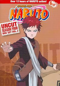 Naruto Uncut Season 4 Box Set Vol 2 - (Region 1 Import DVD)