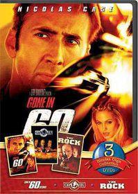 Nicholas Cage 2010 3 Pack - (Region 1 Import DVD)