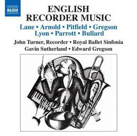 English Recorder Music - English Recorder Music (CD)