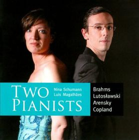 Magalhaes, Nina - Variations For Two PIanos (CD)