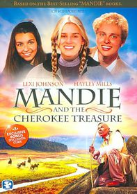 Mandie and the Cherokee Treasure - (Region 1 Import DVD)
