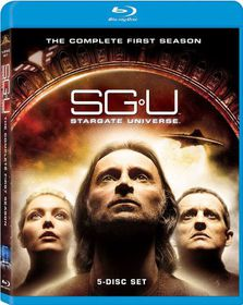SGU Stargate Universe:Complete First Season - (Region A Import Blu-ray Disc)