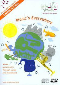 Music's Everywhere - (Region 1 Import DVD)