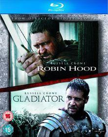 Robin Hood (2010) / Gladiator - (Import Blu-Ray Disc)