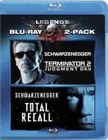 Terminator 2:Judgment Day/Total Recal - (Region A Import Blu-ray Disc)