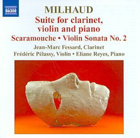 Milhaud: Suite For Clarinet/violin/pno - Suite For Clarinet, Violin & Piano (CD)