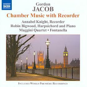 Jacob: Chamber Music With Recorder - Chamber Music With Recorder (CD)