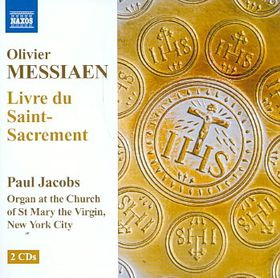 Messiaen:livre Du Saint Sacrement - Livre Du Saint Sacrement (CD)