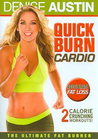 Denise Austin:Quick Burn Cardio - (Region 1 Import DVD)