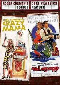 Crazy Mama/Lady in Red - (Region 1 Import DVD)
