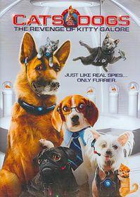 Cats & Dogs:Revenge/Kitty Galore - (Region 1 Import DVD)