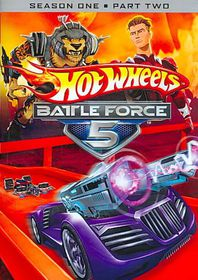 Hot Wheels Battle Force 5:S1p2 - (Region 1 Import DVD)