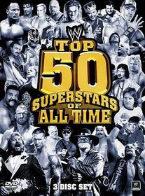 Top 50 Superstars of All Time - (Region 1 Import DVD)