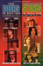 The Doors: The Doors Are Open / The Rolling Stones: The Stones in the Park - (Import DVD)