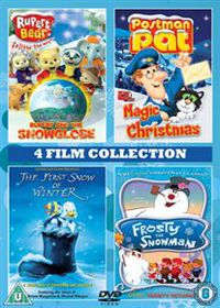 Rupert and the Snowglobe / Postman Pat's Magic Christmas / The First Snow of Winter / Forsty the Snowman - (Import DVD)