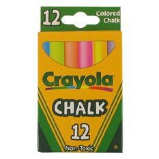 Crayola - 12 Coloured Chalks