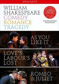 Shakespeare:Comedy Tragedy Romance - (Region 1 Import DVD)