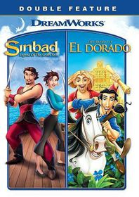Sinbad/Road to El Dorado - (Region 1 Import DVD)