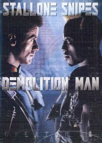 Demolition Man - (Region 1 Import DVD)