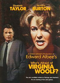 Who's Afraid of Virginia Woolf - (Region 1 Import DVD)