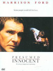 Presumed Innocent - (Region 1 Import DVD)
