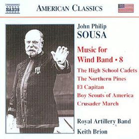 Sousa: Music For Wind Band Vol8 - Music For Wind Band (CD)