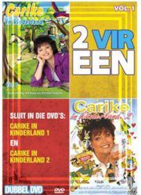 Keuzenkamp Carike - 2 Vir Een - Kinderland Vols.1 & 2 (DVD)