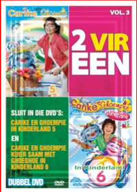 Keuzenkamp Carike - 2 Vir Een - Vol.3 Kinderland Vols.5 & 6 (DVD)