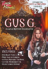 Gus G Lead Rhythm - (Region 1 Import DVD)