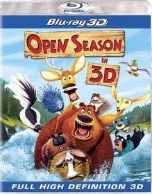 Open Season 3d - (Region A Import Blu-ray Disc)