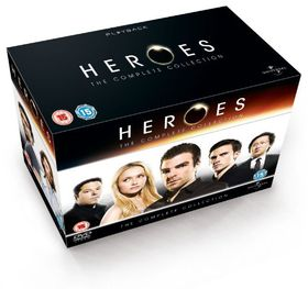 Heroes - Series 1-4 (parallel import)