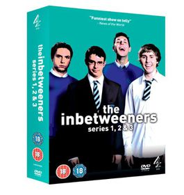 The Inbetweeners Seasons 1 - 3 (DVD)