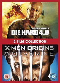 X-Men Origins: Wolverine / Die Hard 4.0 - (Import DVD)