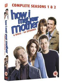 How I Met Your Mother - Seasons 1-2 - (Import DVD)