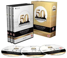 The Stars Of Coronation Street - 50 Years, 50 Classic Characters - (Import DVD)