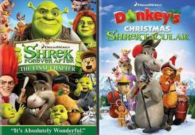 Shrek Forever After / Donkey's Christmas - (Region 1 Import DVD)
