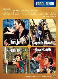 Tcm Greatest Films:Errol Flynn - (Region 1 Import DVD)