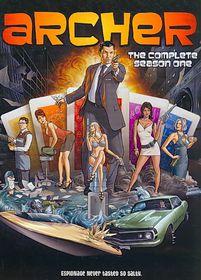 Archer Season 1 - (Region 1 Import DVD)
